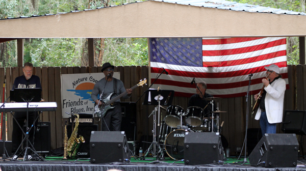 Cool Corporate Cats, the 18th Annual Blues and BBQ festival in Old Homosassa