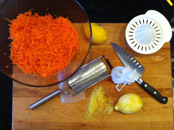Step 2 for Carrot Jam, Adventures in the Kitchen with Michelle, Carrots at Christmas