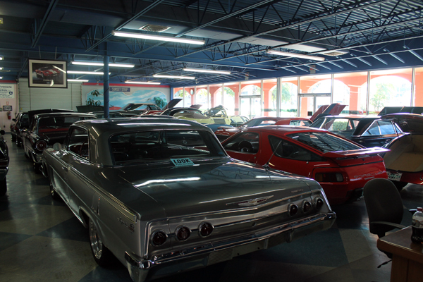 Out and About. PJ's Auto World in Clearwater