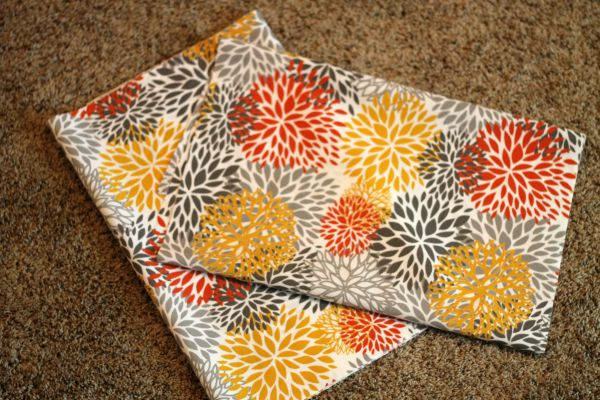Easy Envelope Style Pillow Covers